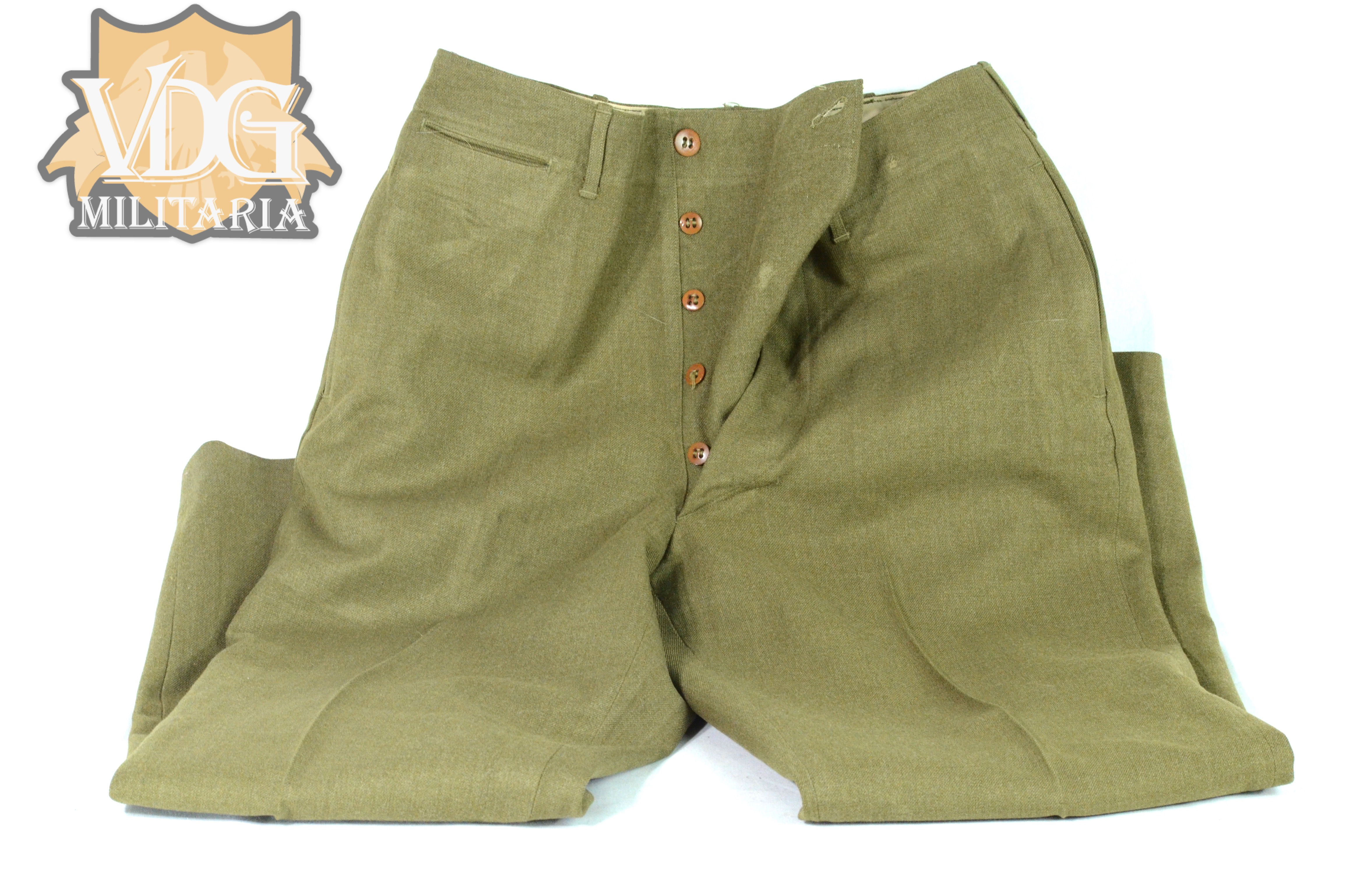 WW1 US Army Pants-Private Purchase-Named
