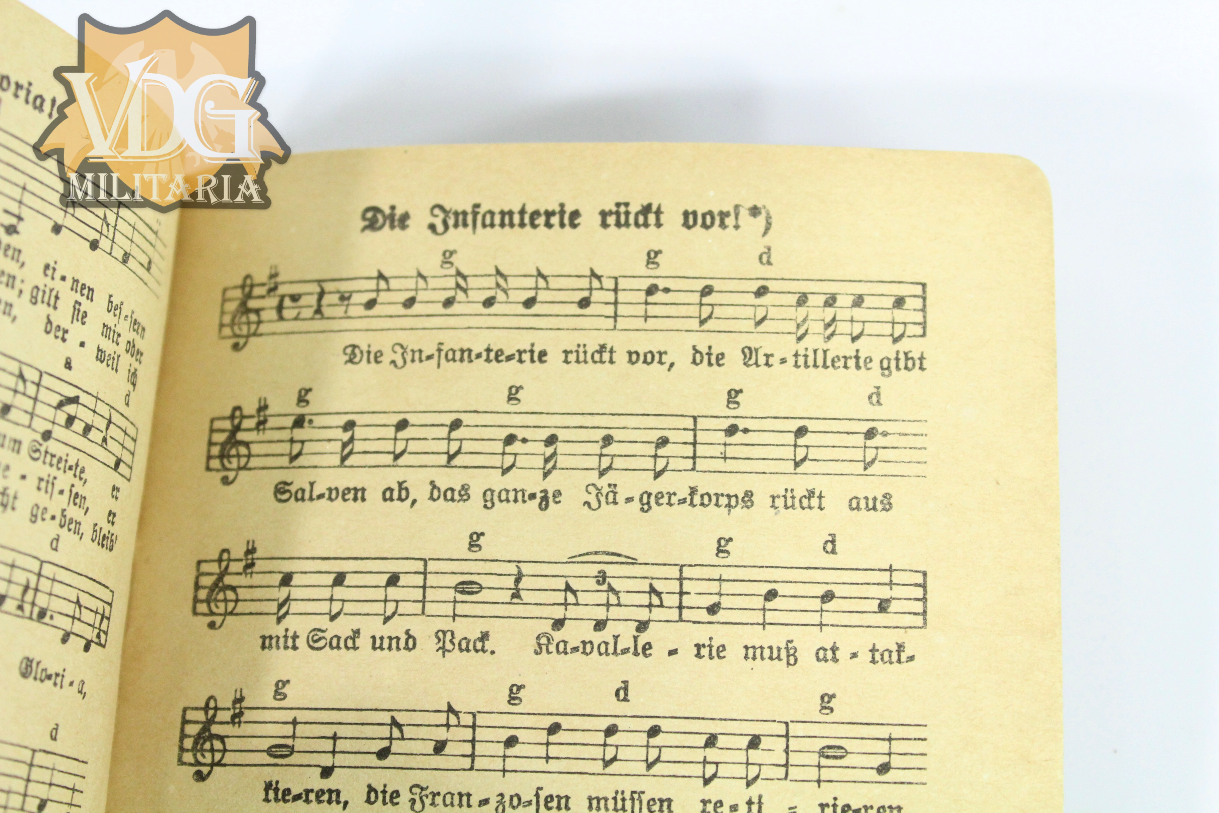 WW1 German Song Book