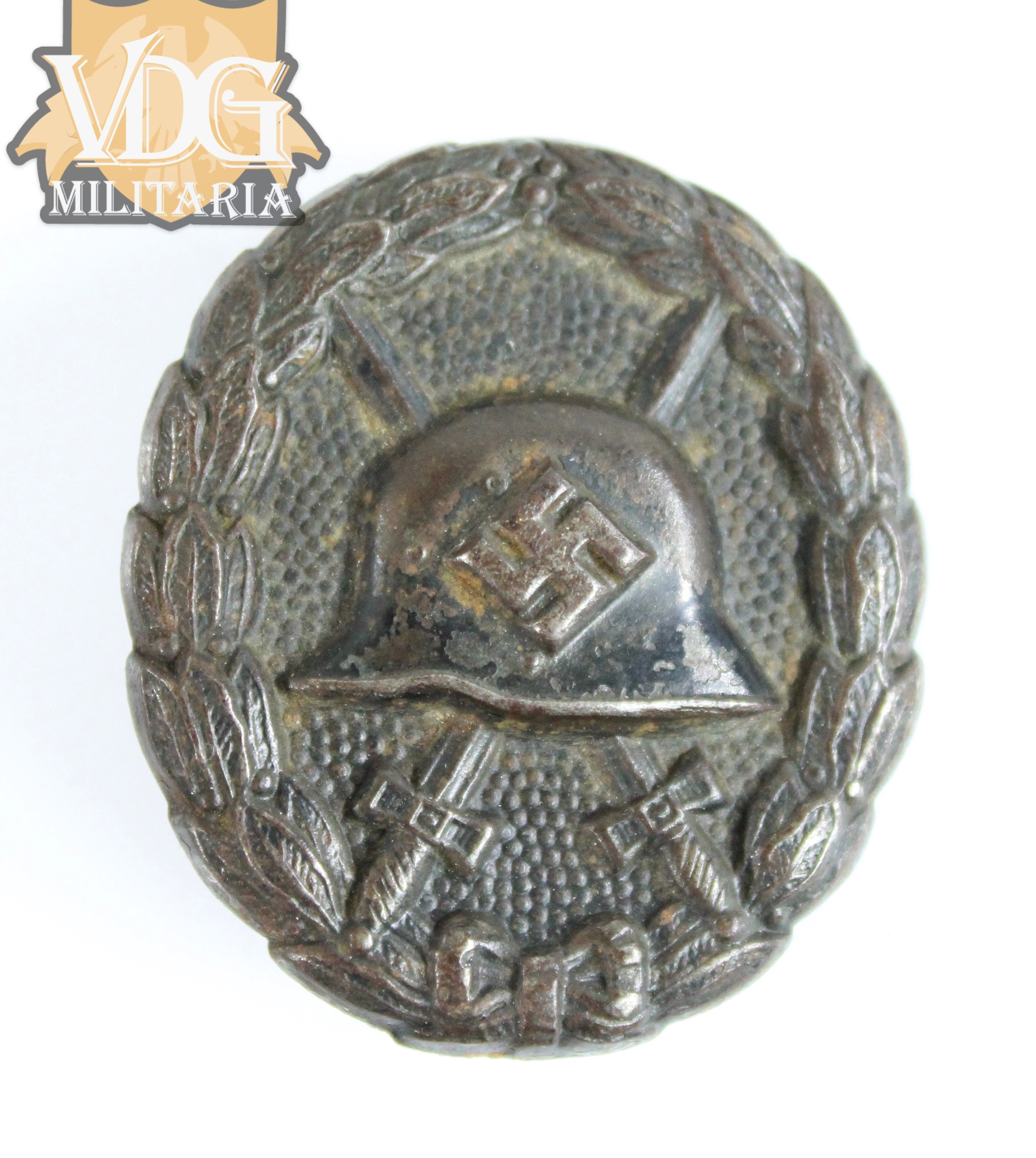 1936 Pattern Wound Badge in Black