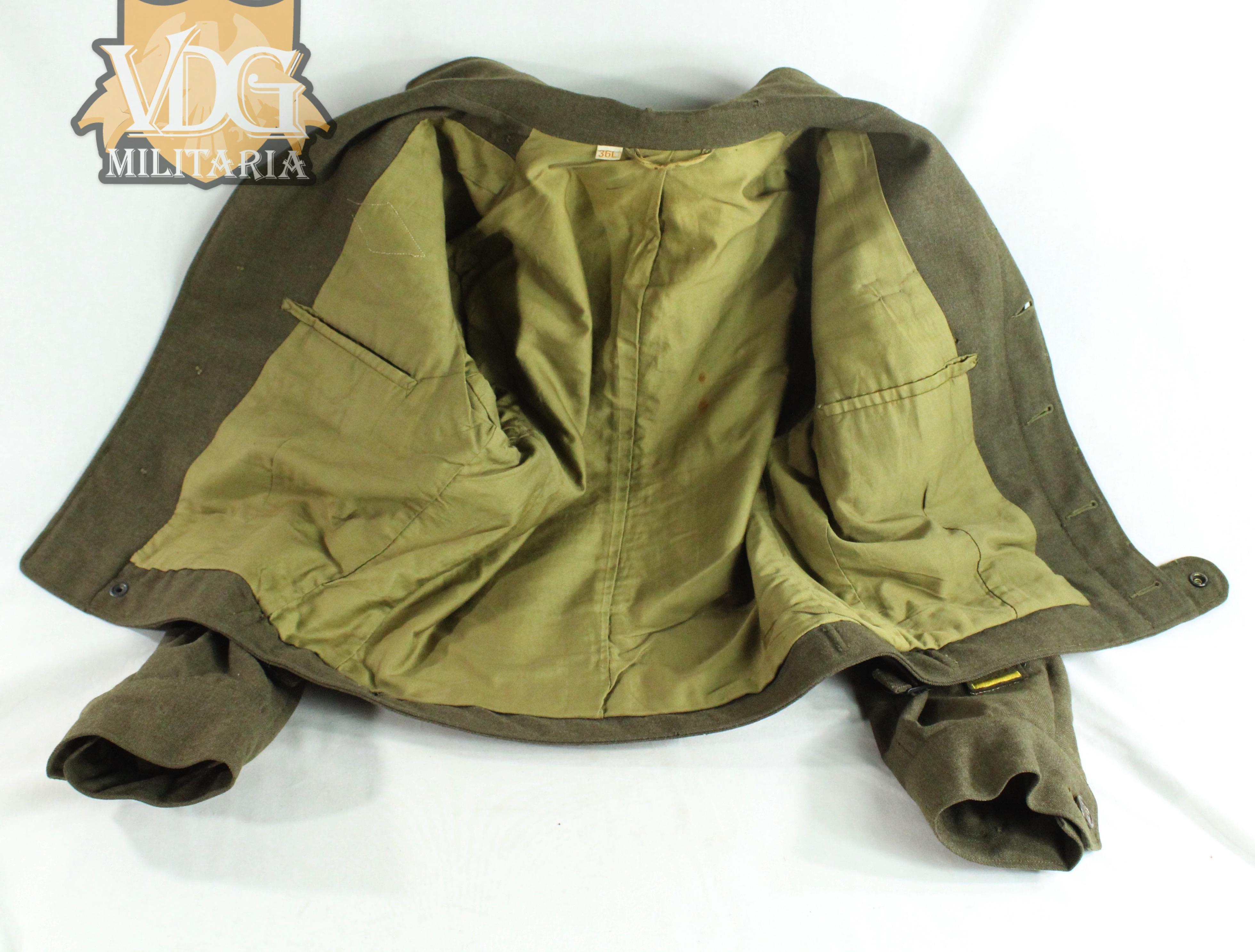 WWII U S  Army XV Corps - Armored Ike Jacket Uniform