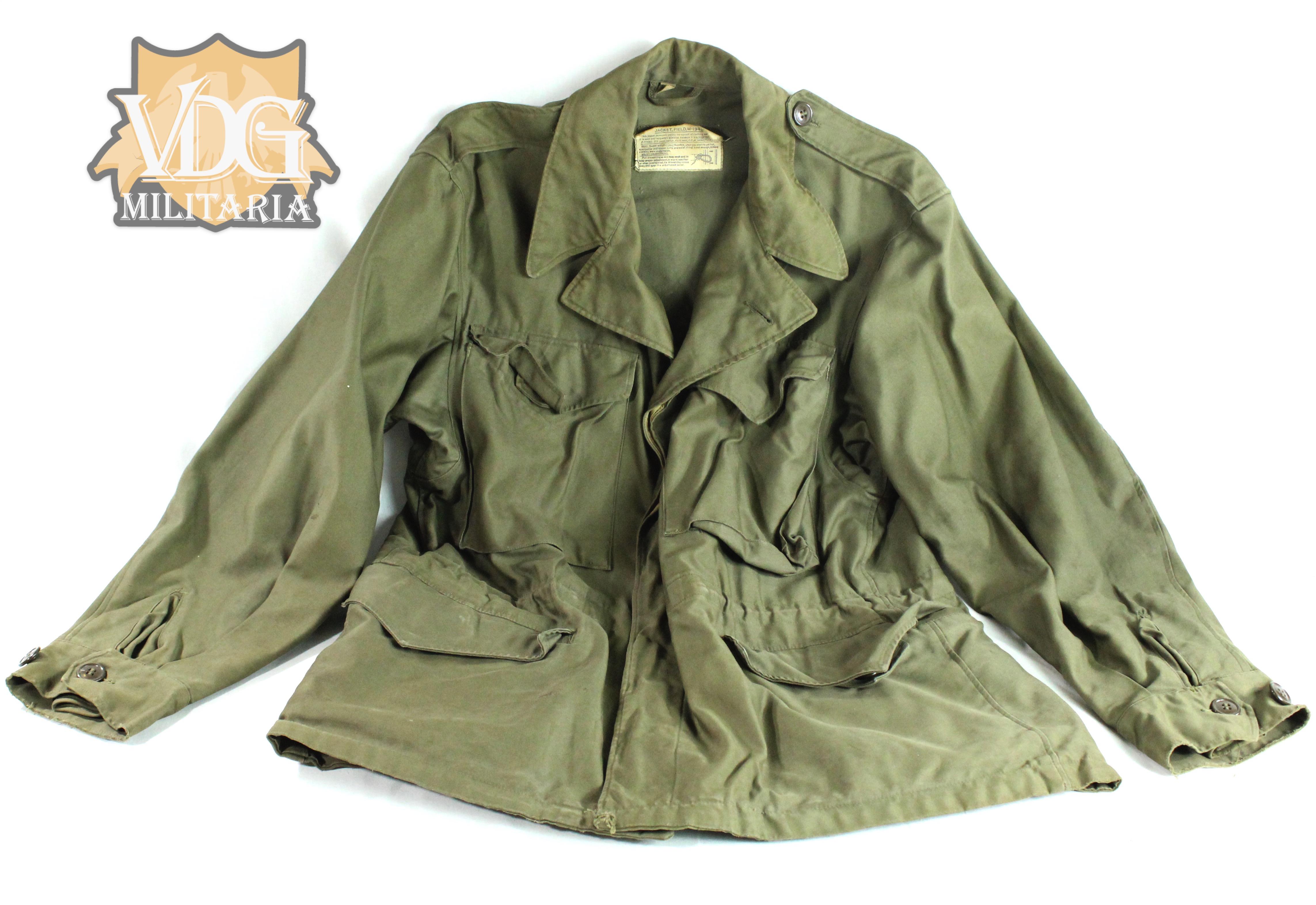 ww2 us army m43 field jacket