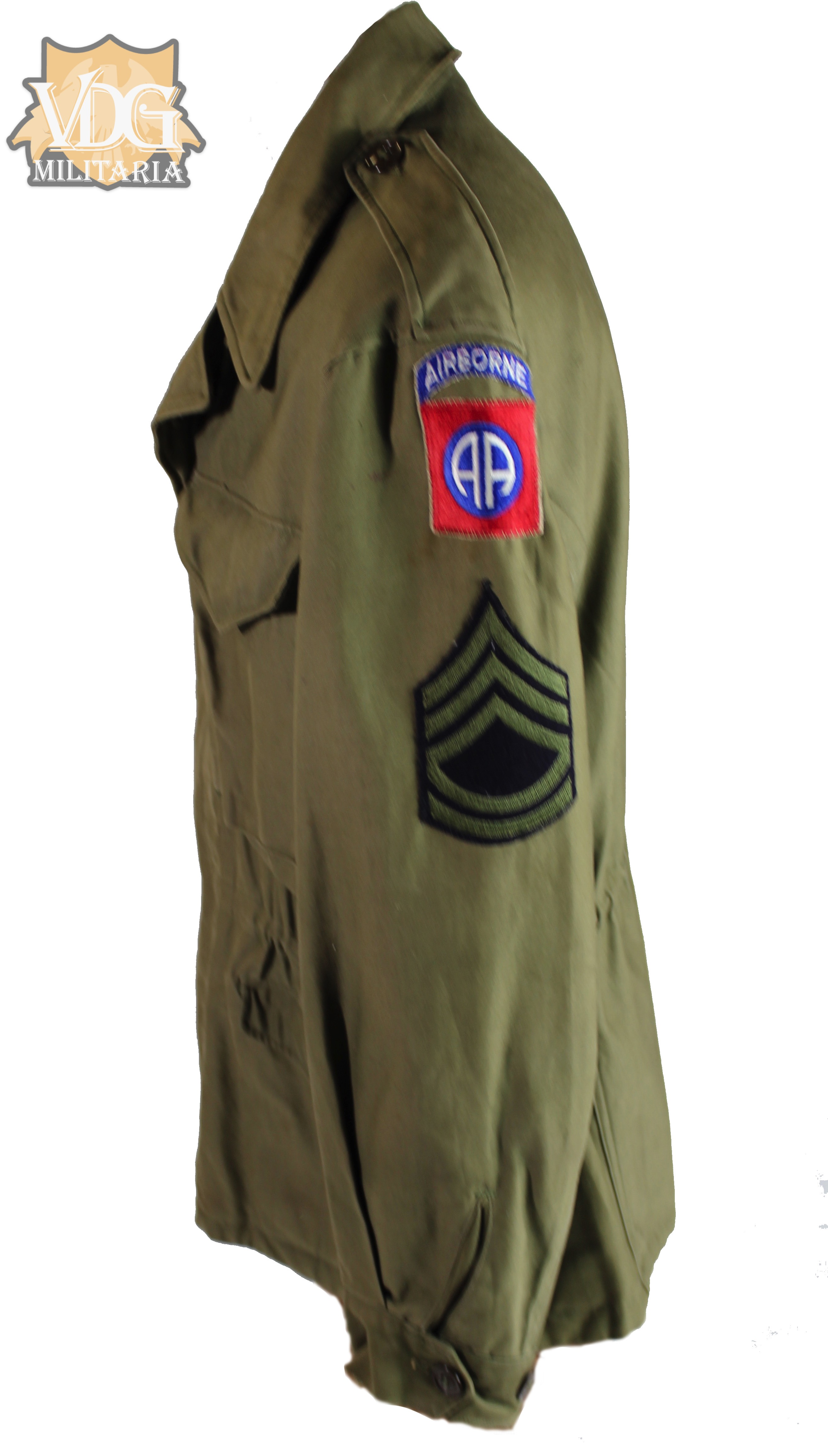 Ww2 Us Army 82nd Airborne M43 Field Jacket Named Vdg